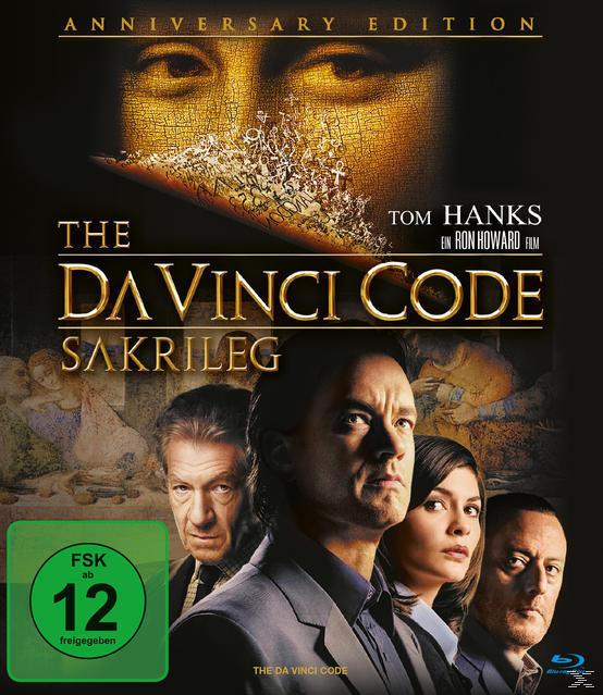 The Da Vinci Code - Sakrileg Anniversary Edition (BLU-RAY) für 12,99 Euro