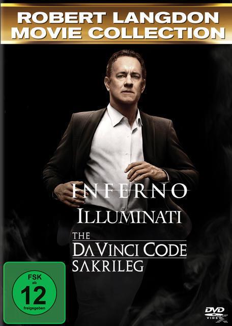 The Da Vinci Code - Sakrileg, Illuminati, Inferno DVD-Box (DVD) für 28,99 Euro