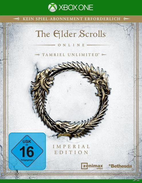 The Elder Scrolls Online - Imperial Edition (Xbox One) für 109,99 Euro