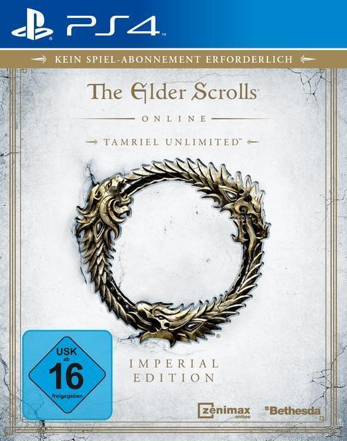 The Elder Scrolls Online: Tamriel Unlimited - Imperial Edition (PlayStation 4) für 109,99 Euro