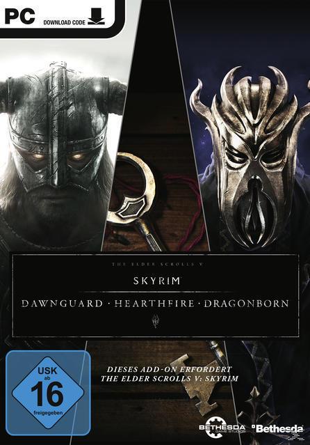 The Elder Scrolls V: Skyrim - Erweiterungspaket (Software Pyramide) (PC) für 10,00 Euro