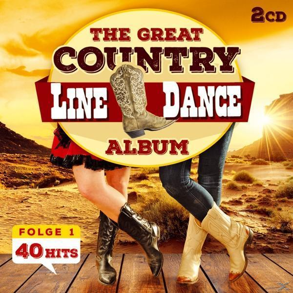 The Great Country Line Dance Album 40 Hits (The Nashville Line Dance Band) für 7,99 Euro