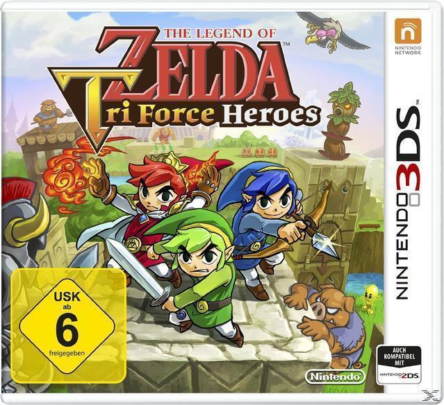 The Legend Of Zelda Tri Force Heroes (Nintendo 3DS) für 12,00 Euro