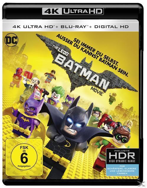 The LEGO Batman Movie (4K Ultra HD BLU-RAY + BLU-RAY) für 25,99 Euro