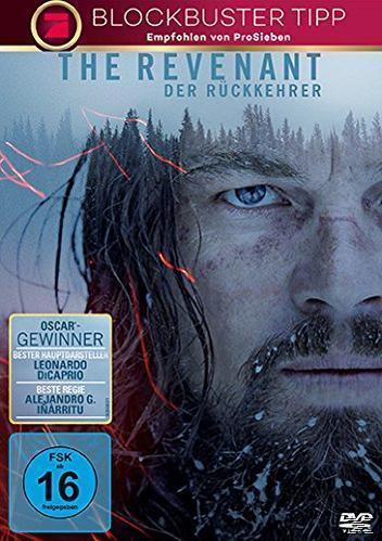 The Revenant - Der Rückkehrer ProSieben Blockbuster Tipp (DVD) für 7,99 Euro