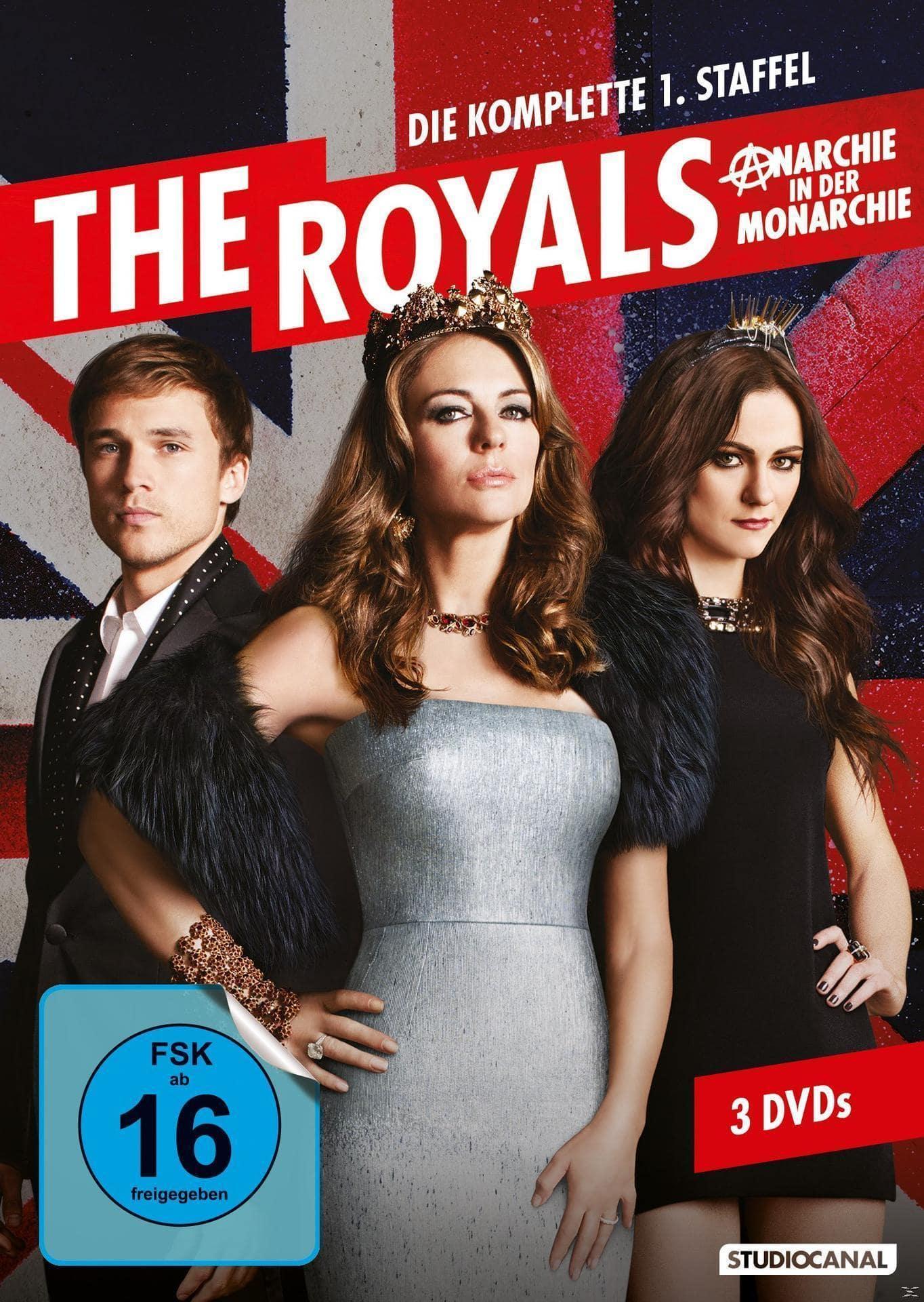 The Royals - Staffel 1 DVD-Box (DVD) für 19,99 Euro