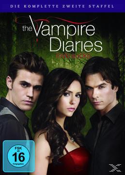The Vampire Diaries - Die komplette 2. Staffel DVD-Box (DVD) für 13,99 Euro