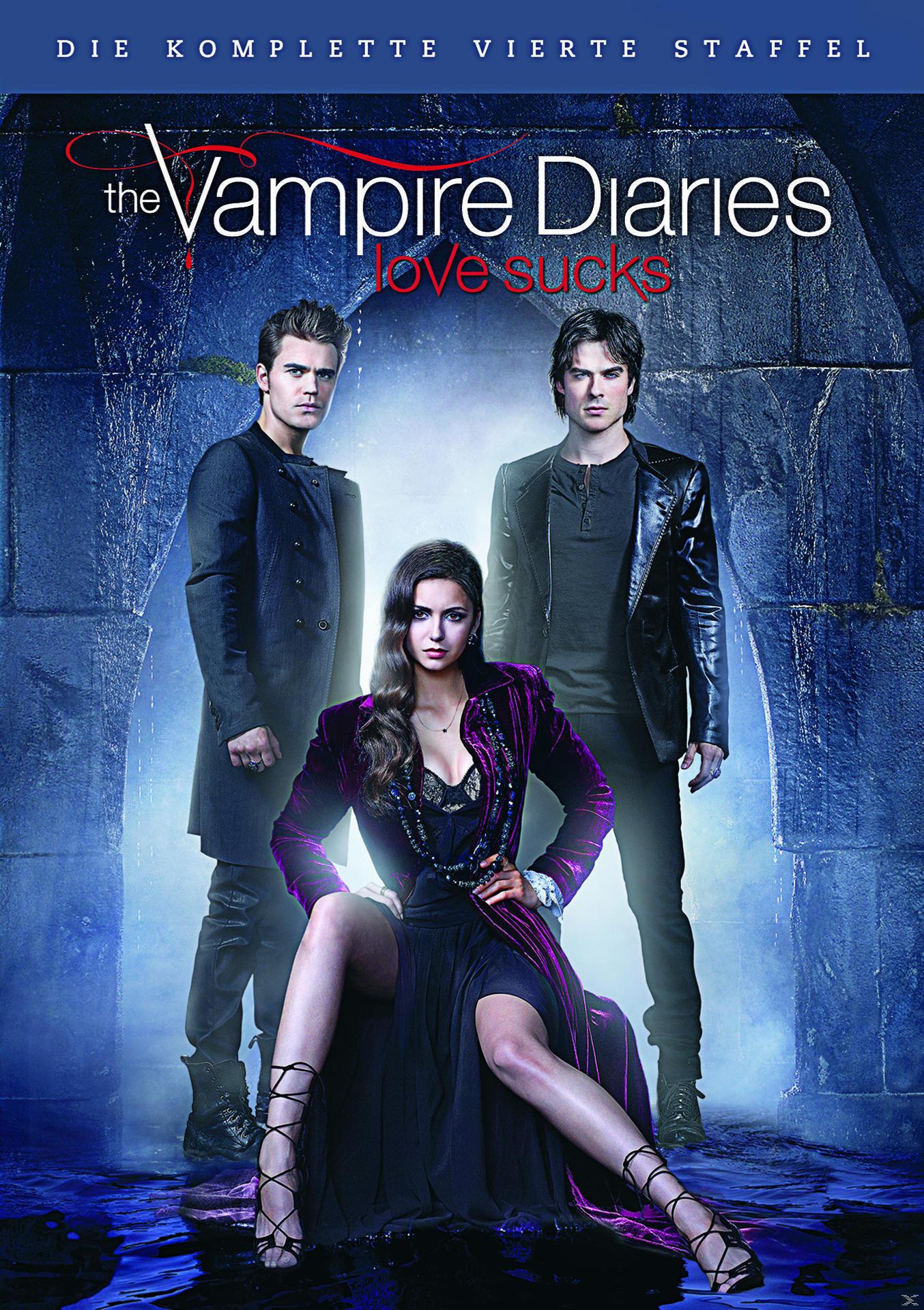 The Vampire Diaries - Die komplette vierte Staffel DVD-Box (DVD) für 14,99 Euro