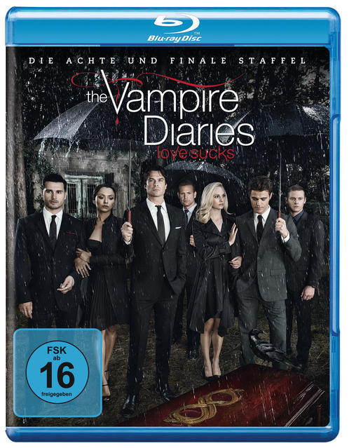The Vampire Diaries - Staffel 8 BLU-RAY Box (BLU-RAY) für 21,99 Euro