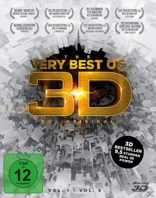 The very Best of 3D - Das Original - Vol. 1-9 für 29,99 Euro