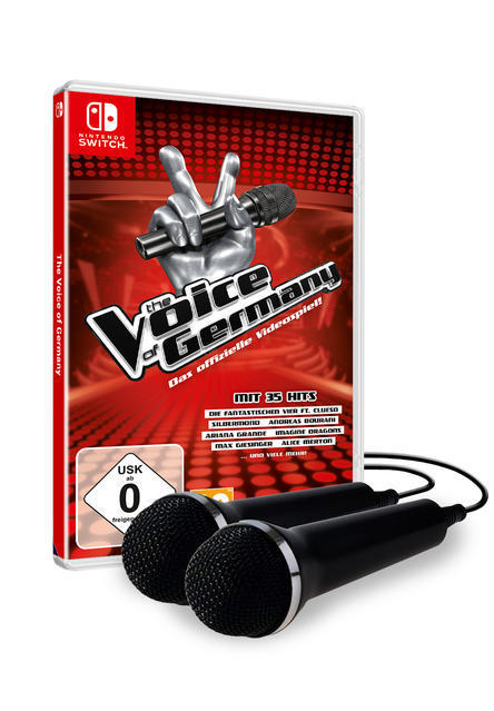 The Voice of Germany + 2 Mics (Nintendo Switch) für 69,99 Euro