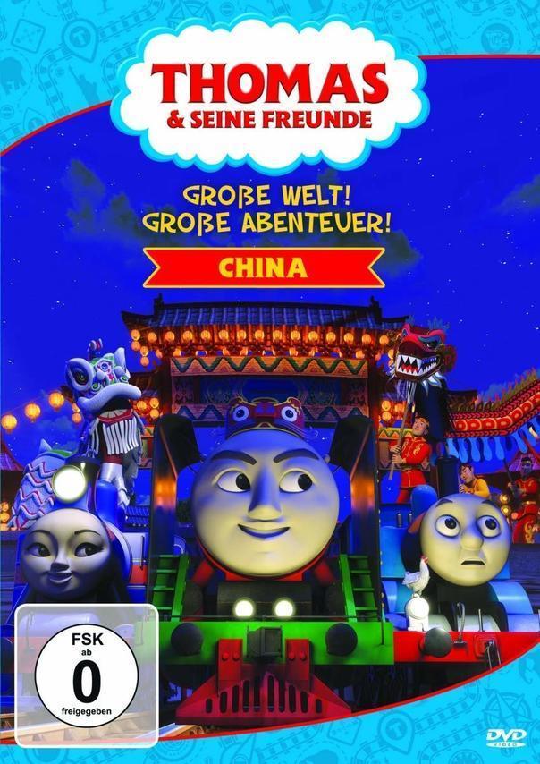 Thomas und seine Freunde: Große Welt! Große Abenteuer! - CHINA (DVD) für 8,76 Euro
