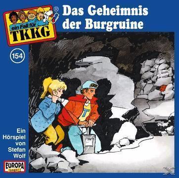 TKKG 154: Das Geheimnis der Burgruine (CD(s)) für 6,99 Euro