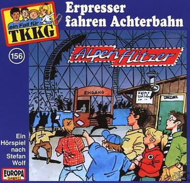 TKKG 156: Erpresser fahren Achterbahn (CD(s)) für 6,99 Euro