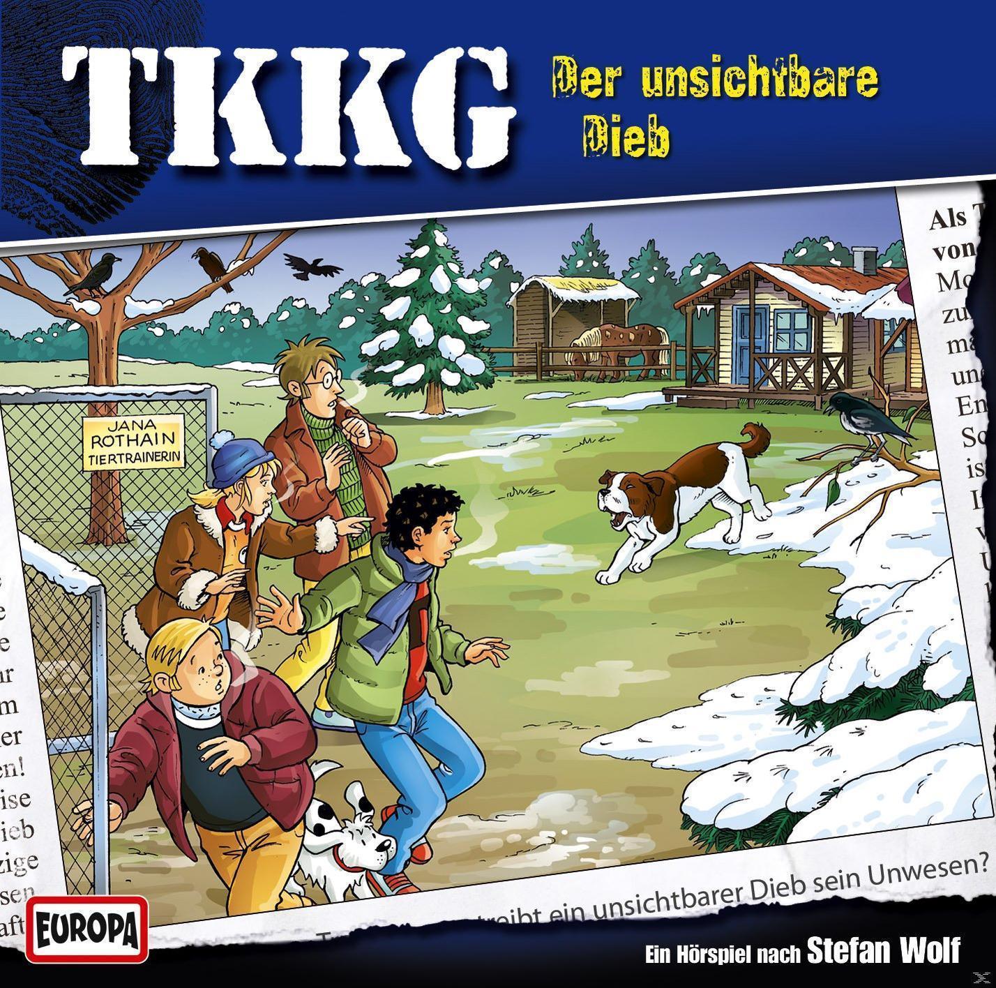 TKKG 185: Der unsichtbare Dieb (CD(s)) für 6,99 Euro