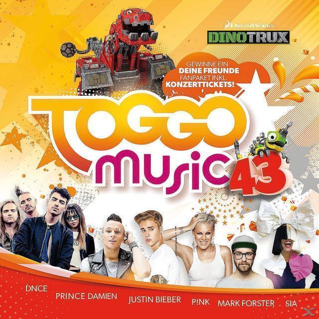 Toggo Music 43 (VARIOUS) für 15,99 Euro