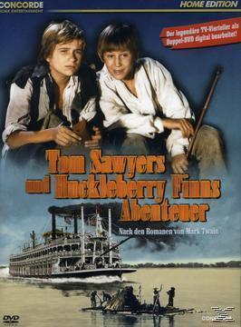 Tom Sawyers und Huckleberry Finns Abenteuer - Home Edition (DVD) für 7,99 Euro