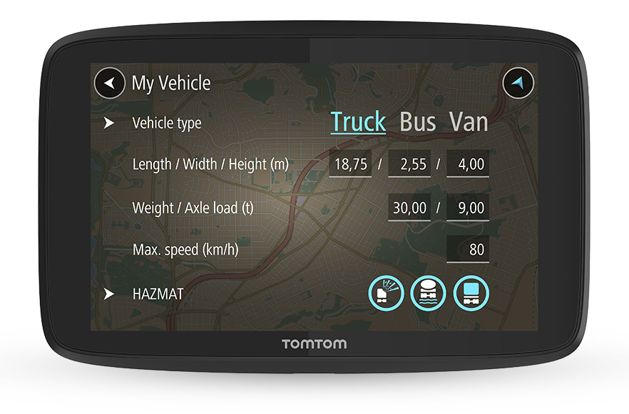 TomTom GO Professional 620 EU LKW-Navi 6 Zoll lebenslang Karten-Updates für 318,95 Euro