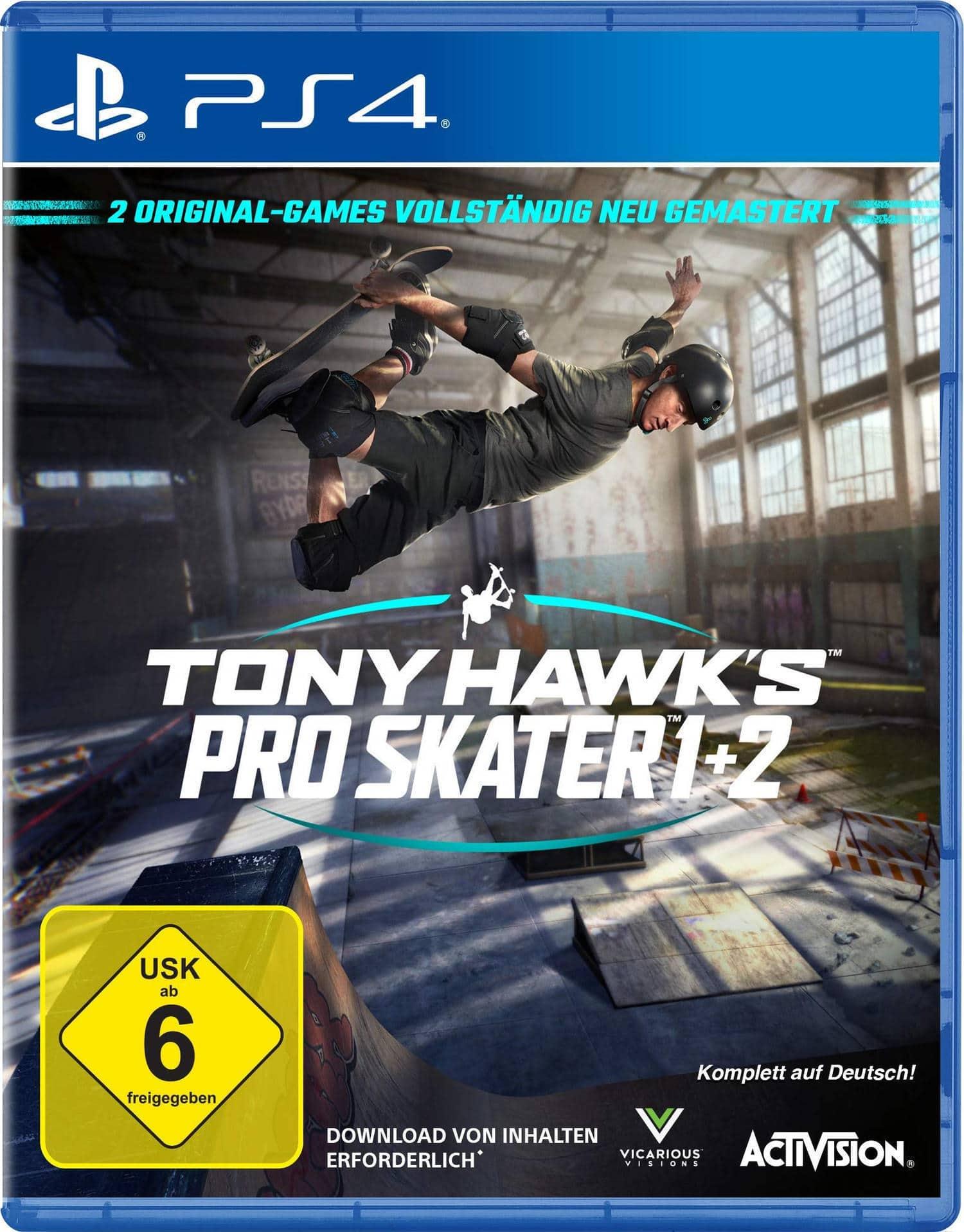 Tony Hawk's Pro Skater 1 + 2 (PlayStation 4) für 39,99 Euro