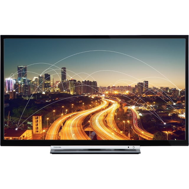 Toshiba 24D3763DA Smart-TV 61cm 24 Zoll LED HD 600TPQ A+ DVB-T2/C/S2 DVD-Player für 199,00 Euro