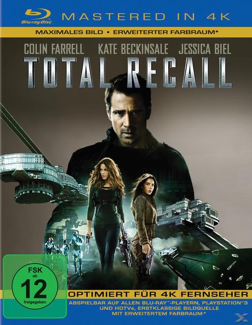 Total Recall Remastered (BLU-RAY) für 14,99 Euro