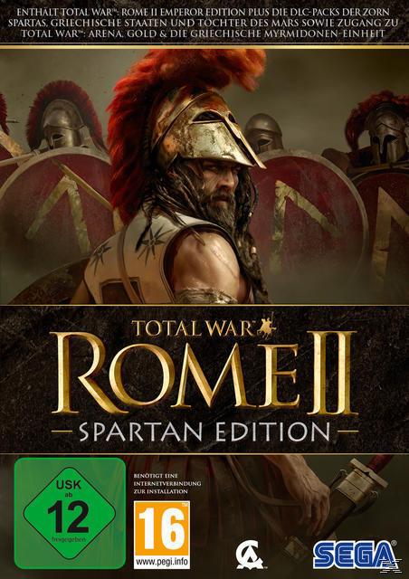 Total War: Rome II - Spartan Edition (PC) für 29,99 Euro