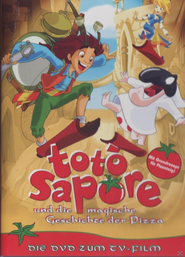 Toto Sapore und die magische Geschichte der Pizza (DVD) für 7,99 Euro