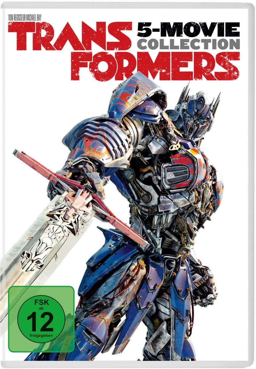 Transformers - 5-Movie Collection DVD-Box (DVD) für 24,99 Euro