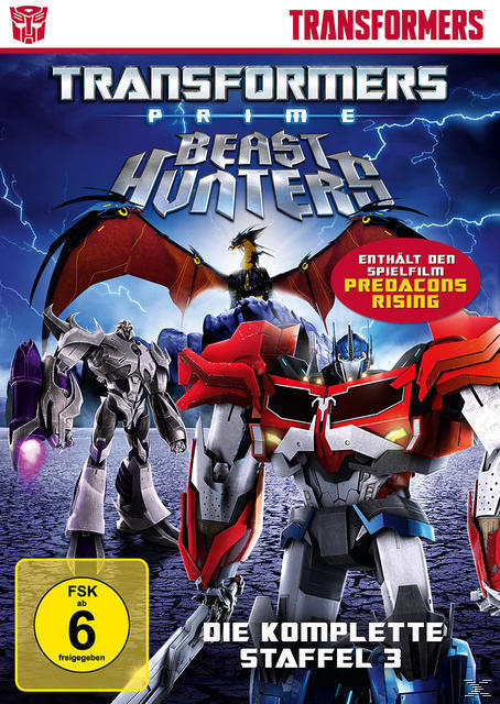 Transformers Prime: Beast Hunters - die komplette Staffel 3 DVD-Box (DVD) für 17,54 Euro