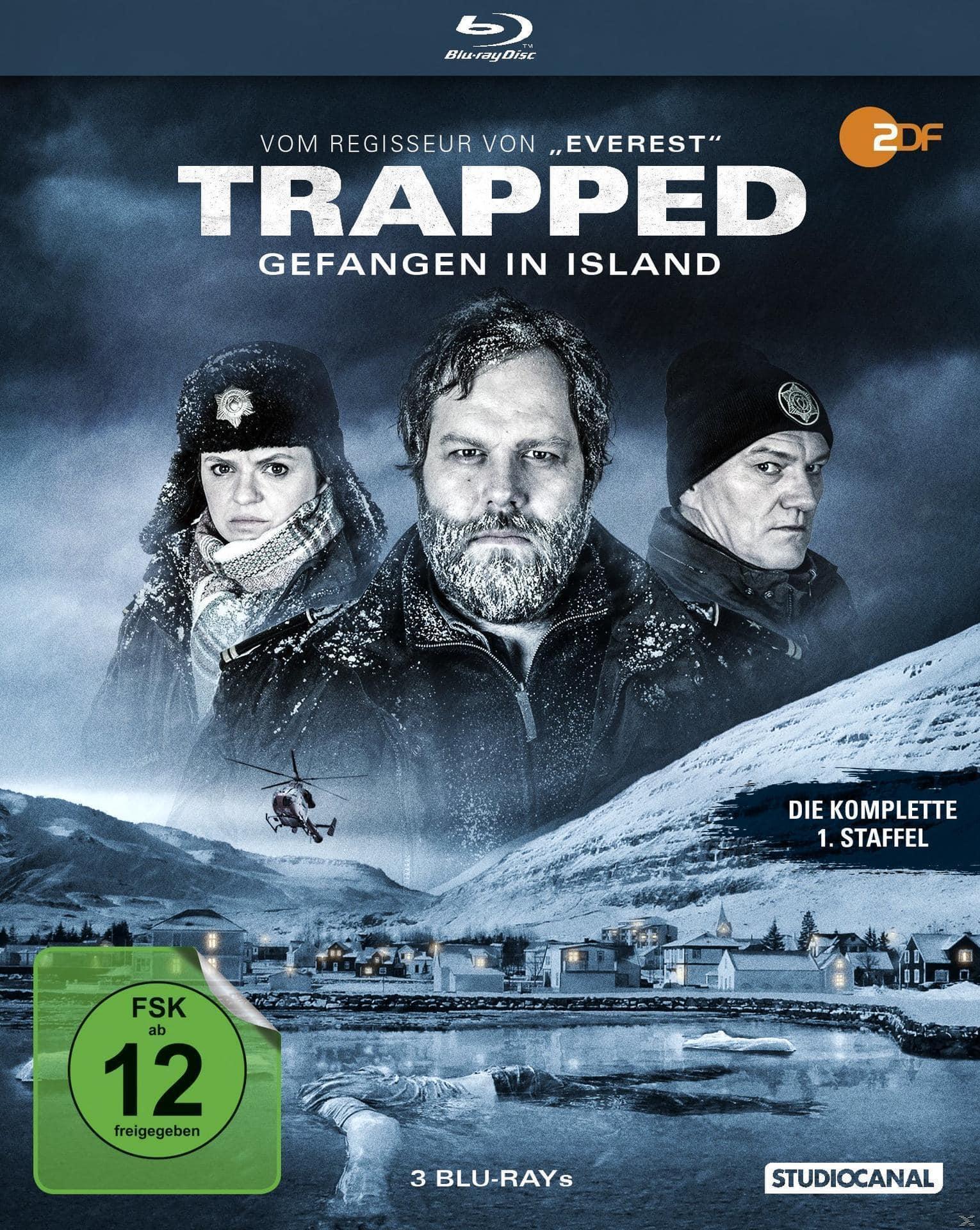 Trapped - Gefangen in Island - Die komplette 1. Staffel Bluray Box (BLU-RAY) für 21,99 Euro