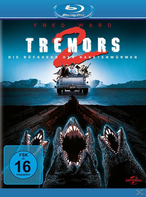 Tremors 2 - Die Rückkehr der Raketenwürmer (BLU-RAY) für 13,99 Euro