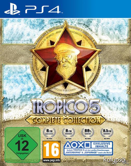 Tropico 5 Complete Collection (PlayStation 4) für 24,99 Euro