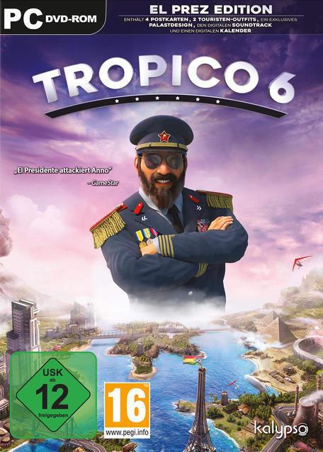 Tropico 6 - El Prez Edition (PC) für 49,99 Euro
