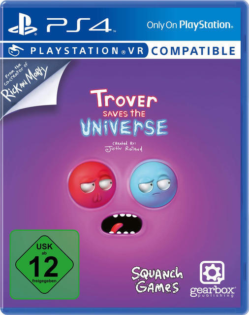 Trover Saves The Universe (PlayStation 4) für 34,99 Euro