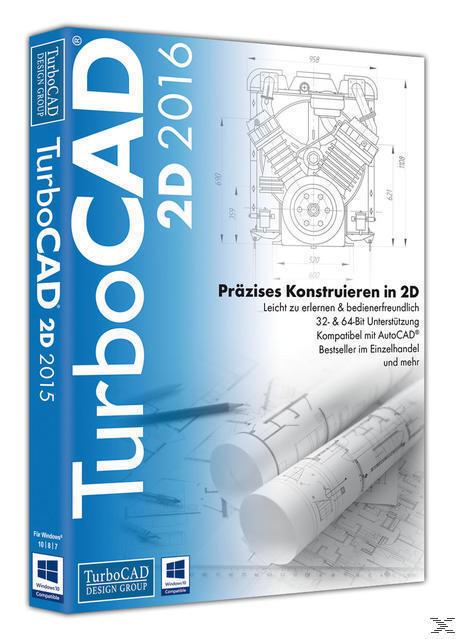 TurboCAD 2D 2016 (PC) für 99,99 Euro