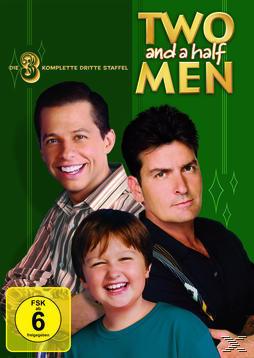 Two and a Half Men: Mein cooler Onkel Charlie - Die komplette dritte Staffel (DVD) für 14,99 Euro