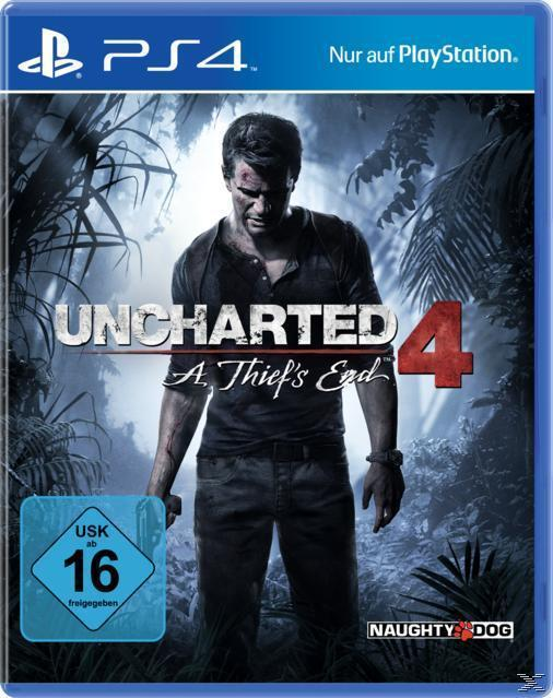 Uncharted 4: A Thief's End (PlayStation 4) für 69,99 Euro