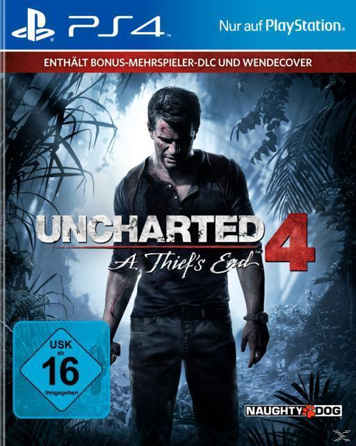 Uncharted 4: A Thief's End - Standard Plus Edition (PlayStation 4) für 15,00 Euro