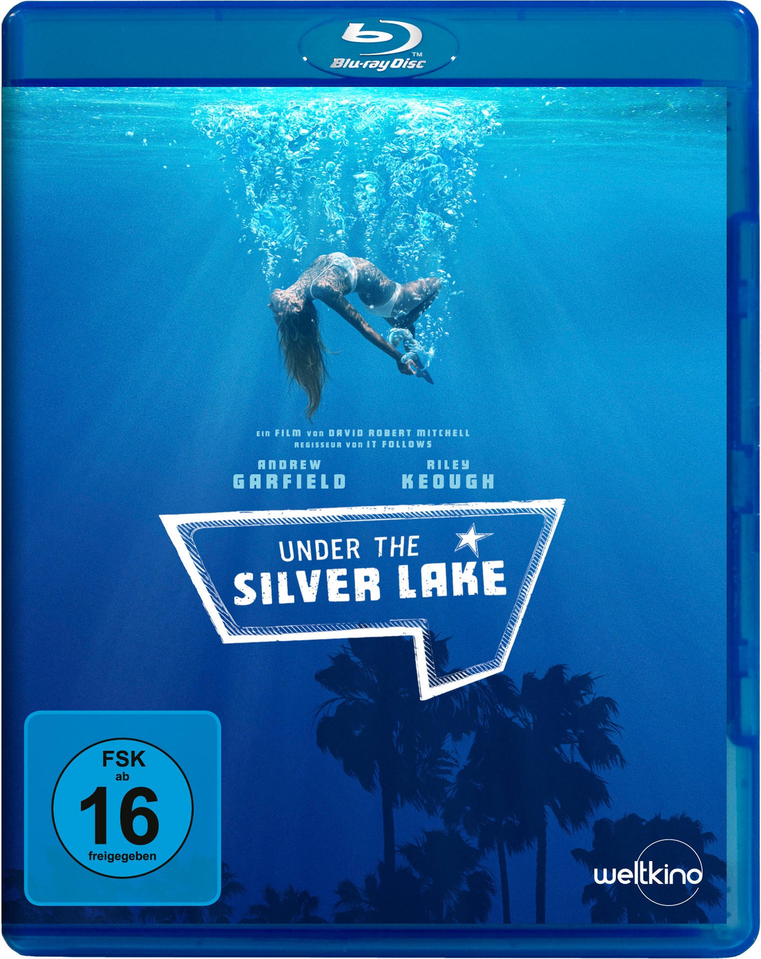 Under the Silver Lake (BLU-RAY) für 14,99 Euro