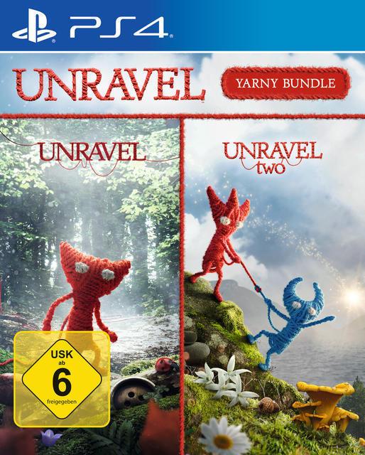 Unravel - Yarny Bundle (PlayStation 4) für 19,99 Euro