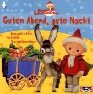 Unser Sandmännchen 04: Guten Abend, gute Nacht (CD(s)) für 4,99 Euro