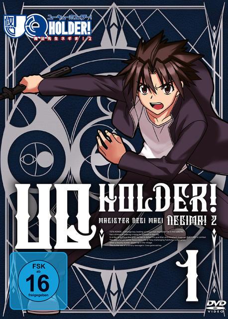 UQ Holder - Vol. 1 (DVD) für 36,95 Euro