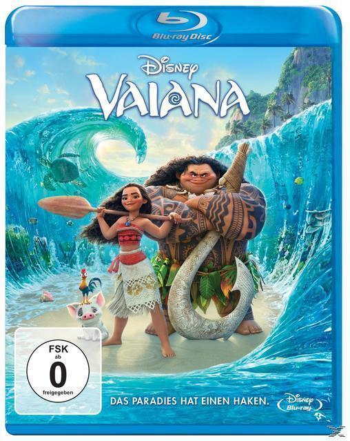 Vaiana (BLU-RAY) für 12,99 Euro