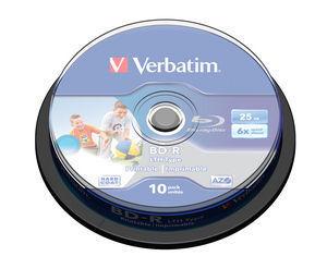 Verbatim BD-R SL, 10pc für 12,99 Euro
