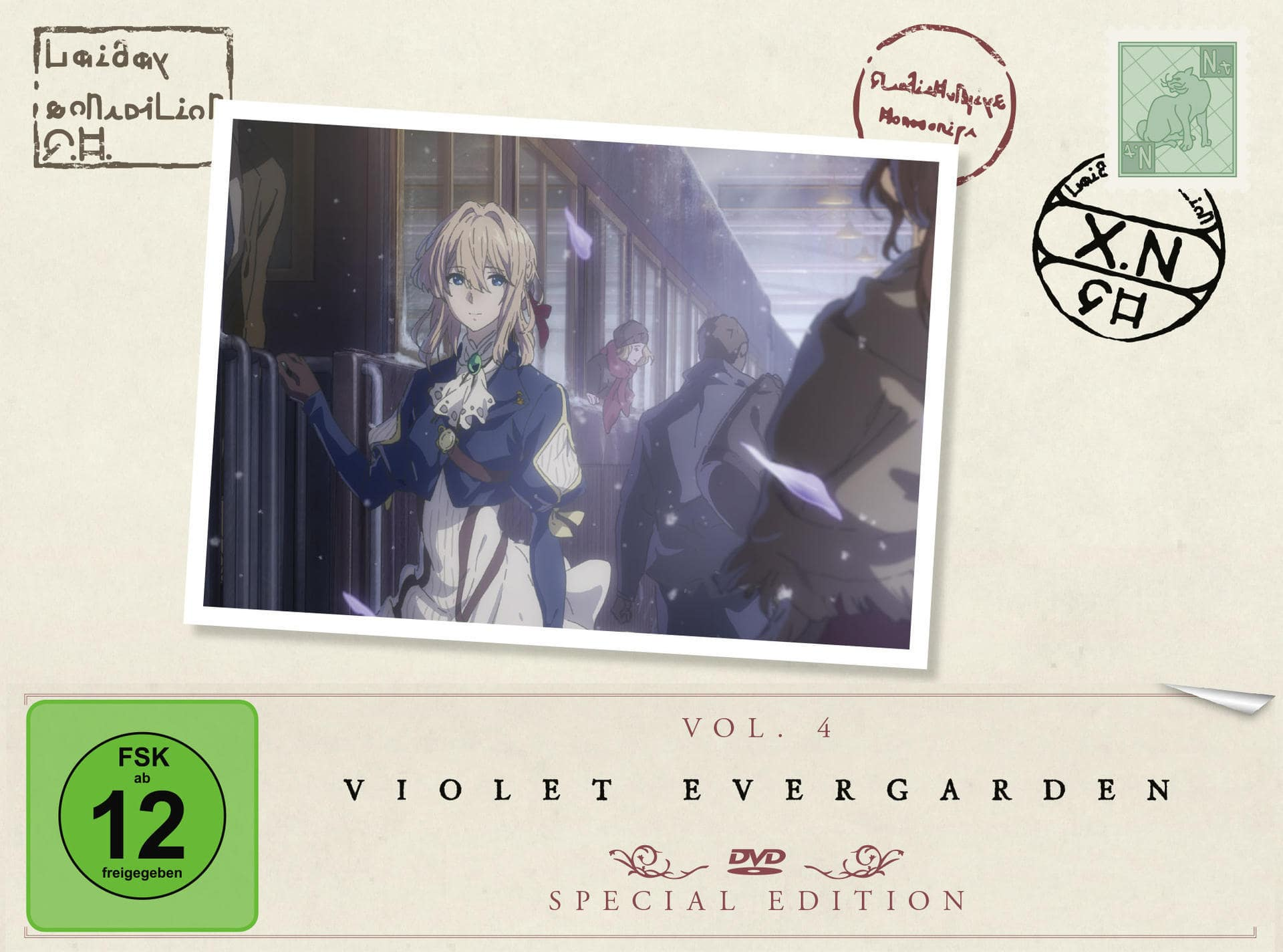 Violet Evergarden - St. 1 - Vol. 4 Limited Special Edition (DVD) für 29,99 Euro