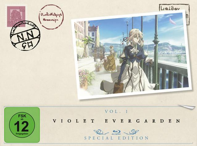 Violet Evergarden - Staffel 1 - Vol. 1 Limited Special Edition (BLU-RAY) für 36,99 Euro