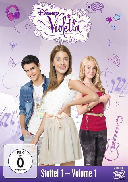 Violetta - Staffel 1, Volume 2 8Folgen 9-16) (DVD) für 8,99 Euro