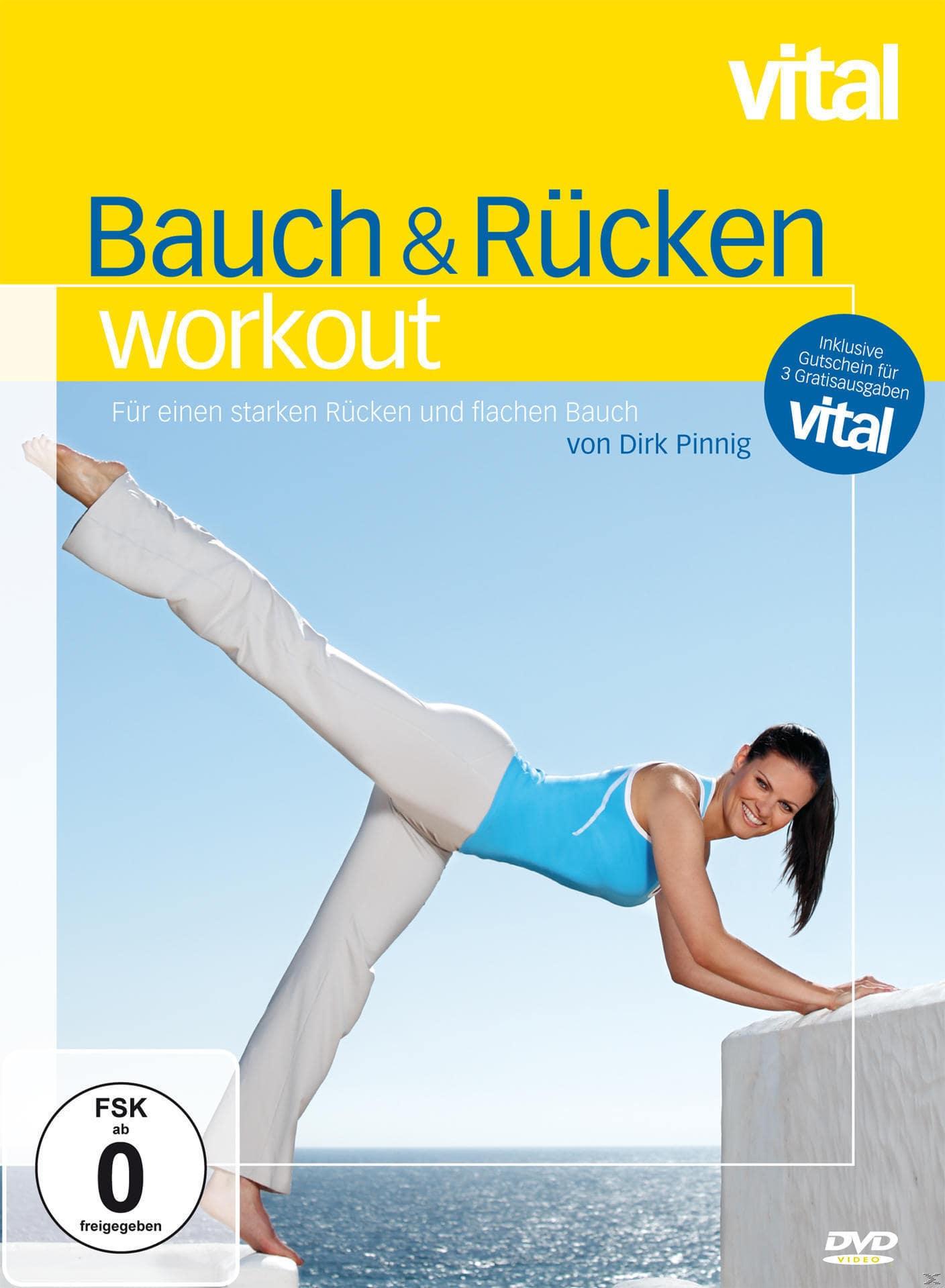 vital - Bauch & Rücken Workout (DVD) für 18,49 Euro