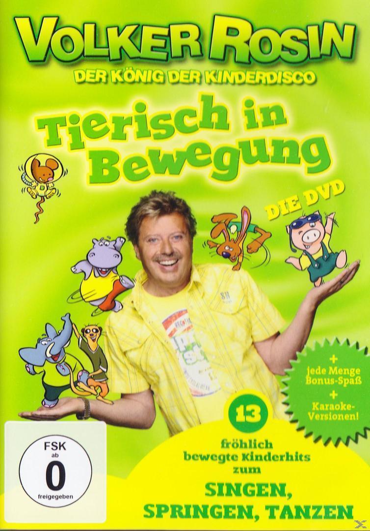 Volker Rosin - Tierisch in Bewegung (DVD) für 14,99 Euro
