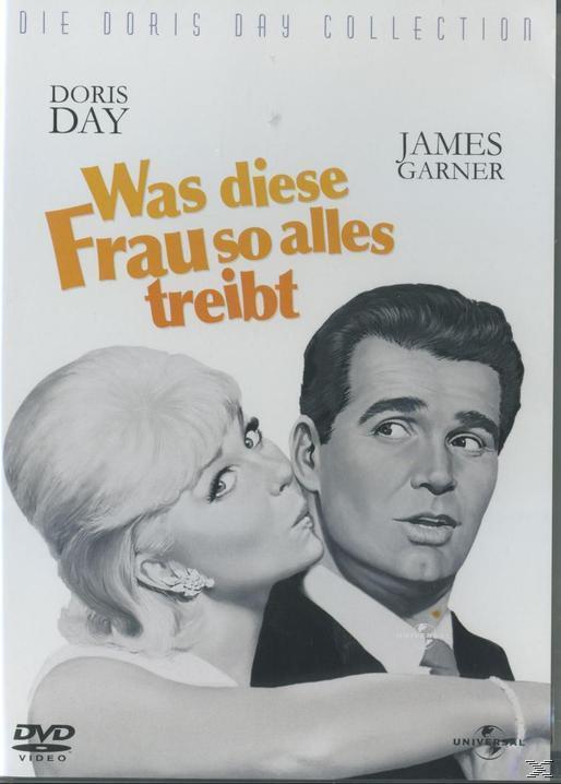 Was diese Frau so alles treibt - Doris Day Collection (DVD) für 8,99 Euro